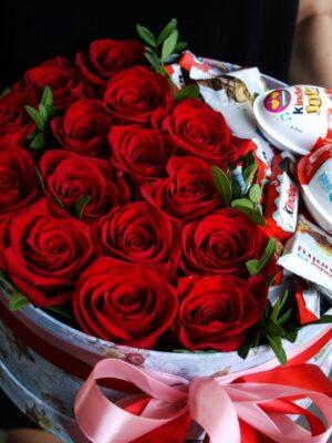 Trandafiri Criogenati cuKinder